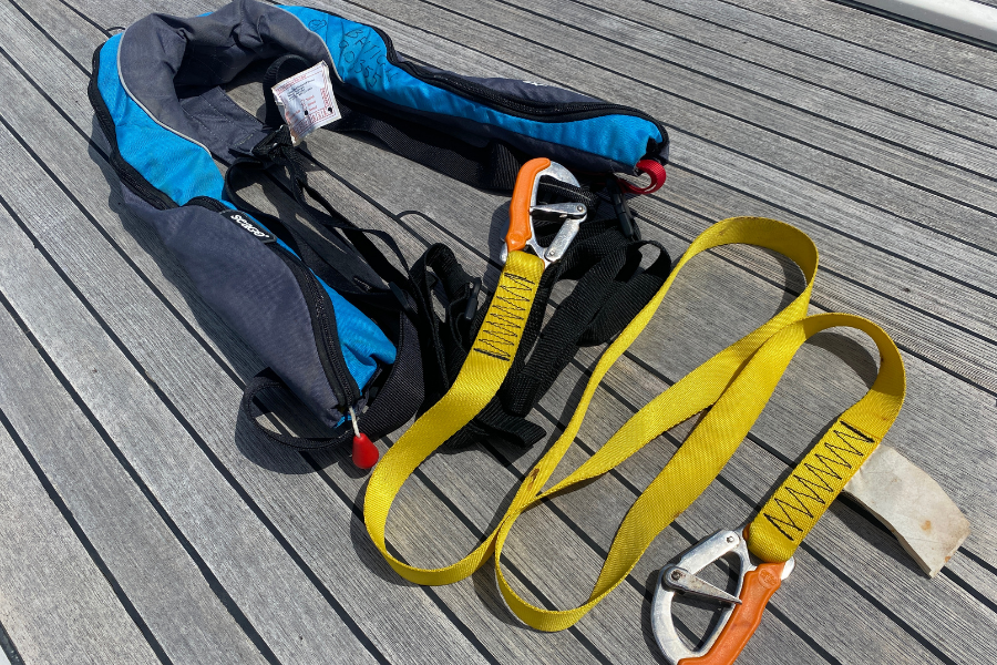 Sailing Safety Tether