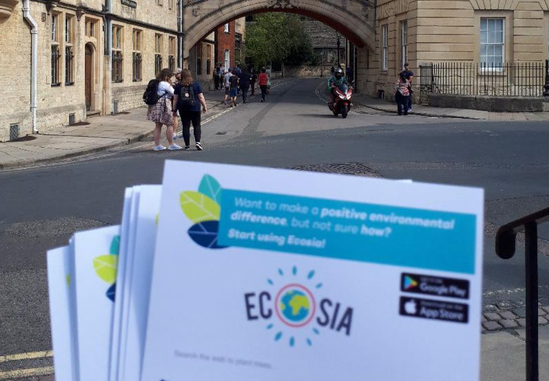 Ecosia on Campus: 140,000 trees and counting